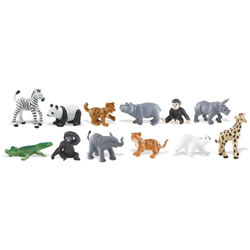 Zoo Babies Found at Zoos All Over the World - Set of 11