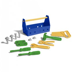 Pretend Play Tool Set And Toolbox with Handle