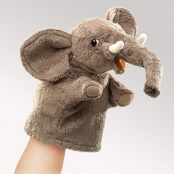 Little Elephant Hand Puppet