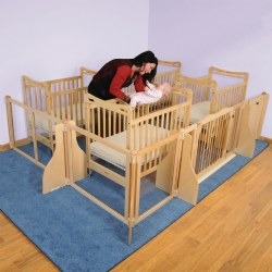Create-A-Space™ Infant Sleeping Area