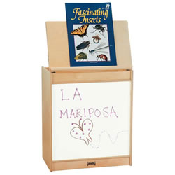 Big Book Easel with Write-n-Wipe Panel