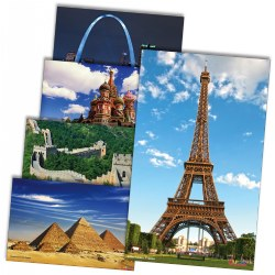 Architecture Poster Set - Set of 12