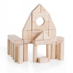 Unit Block Set A - 28 Piece Set