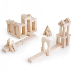 Block Science Unit Block Set B - 56 Piece Set