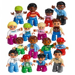 LEGO® DUPLO® World People Set Exploring Family Dynamics - 45011