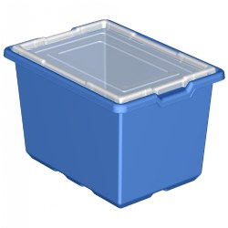 LEGO® XL Blue Storage Bins (9840) - Set of 6