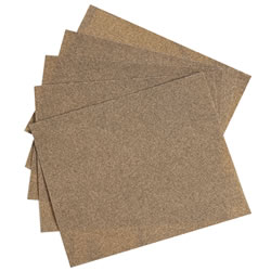Sandpaper Sheets - Set of 5