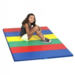 Rainbow Folding Gym Mat