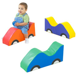 Mini Car Soft Riders - Set of 3