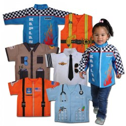 When I Grow Up Career Toddler Set (Set of 6 Polyester Dramatic Play Costumes)