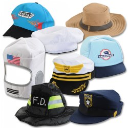 Community Helper Hat Collection - Set of 8