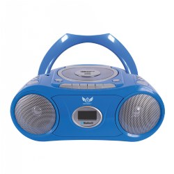Boombox with Bluetooth®, CD, Cassette and FM Radio