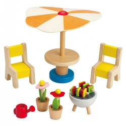 Playhouse Patio Set (9 Pieces)