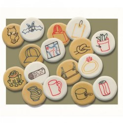 Rhyming Pebbles (Set of 16)