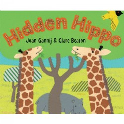 Hidden Hippo - Board Book