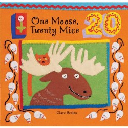 One Moose, Twenty Mice - Board Book