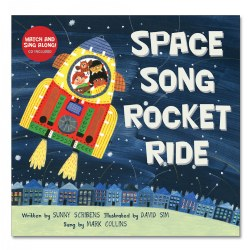 Space Song Rocket Ride - Paperback with Enhanced CD