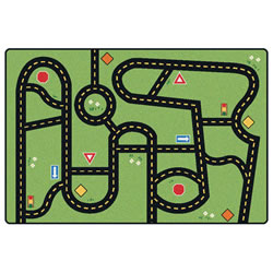 "Drive and Play Accent Rug - 2'8"" x 4'"