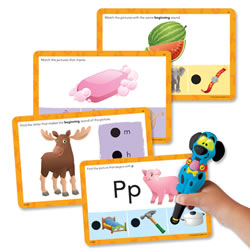 Hot Dots® Jr. Beginning Phonics Cards