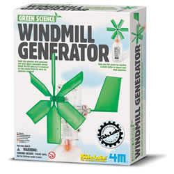 4M Green Science Windmill Generator