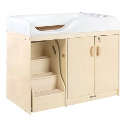 Carolina Changing Table with Stairs