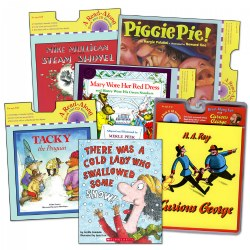 Classic Read Aloud Book and CD -  Set of 6