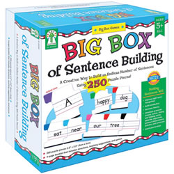 "Grades K & up. Improve sight word recognition, increase fluency, and introduce grammar with this set of puzzle pieces, each color-coded by part of speech. The set of 250 puzzle pieces (approx. 2"" x 2"") also includes four blank puzzle pieces and a four-page booklet with directions, teaching suggestions, and games. Supports NCTE standards."