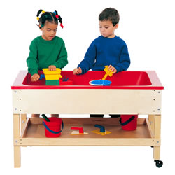 Sand & Water Table With Top