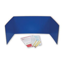 Study Carrel Set - Assorted Colors
