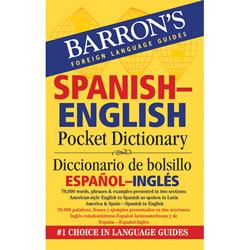 Spanish English Pocket Dictionary - Paperback