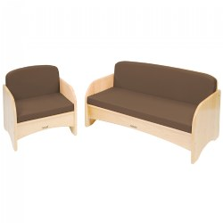 Carolina Birch Couch and Chair