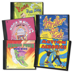 Fitness Fun CD Set (Set of 5)