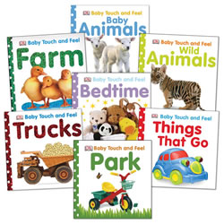 Baby Touch & Feel Board Books