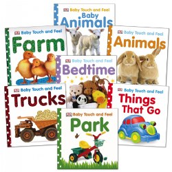 Baby Touch and Feel Board Books - Set of 7