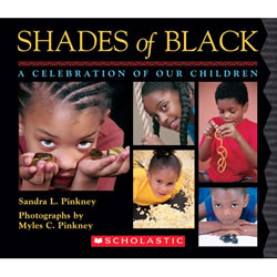 Shades of Black: A Celebration of Our Children - Board Book