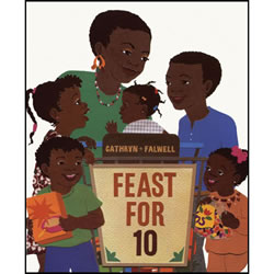 Feast for 10 - Board Book