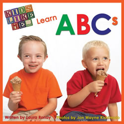 Kids Like Me Learn ABCs - Board Book