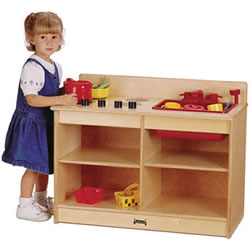 2-in-1 Toddler Kitchen