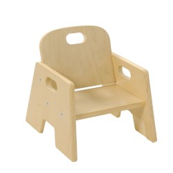 "5"" Toddler Stacking Chair (Set of 2)"