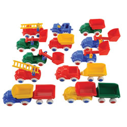 Bigger Vehicle Fun Set (18 pieces)