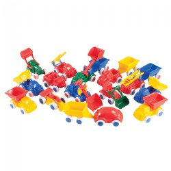 Bigger Vehicle Fun Set - 18 Pieces