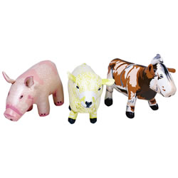 On The Farm Animal Set (Set of 3)