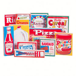 Grocery Store Play Products - Wooden Store Products