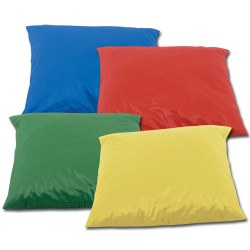 Jumbo Pillows with Removal Chintz Outer Cover
