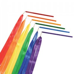 Rainbow Rhythm Ribbons - Set of 6