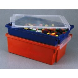 Clear Storage Tray with Lid