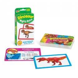 Dinosaur Mighty Match Challenge Cards®