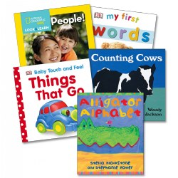 Baby Basics Board Books - Set of 5