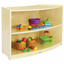 Carolina Shape-A-Space™ Curved Storage Unit Solid Back