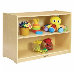 Carolina Shape-A-Space™ Two Shelf Storage Unit - Solid Back